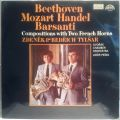 Beethoven, Mozart, Handel, Barsanti-Compositions With Two French Horns