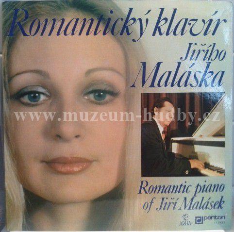 """Jiří Malásek : Romantický Klavír Jiřího Maláska (Romantic Piano Of Jiří Malásek) - Vinyl(33"""" LP)"""