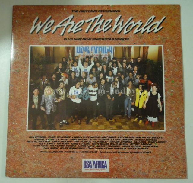 """Michael Jackson , Chicago , Prince , Kenny Rogers , Bruce Springsteen , Tina Turner: We Are The World - Vinyl(33"""" LP)"""