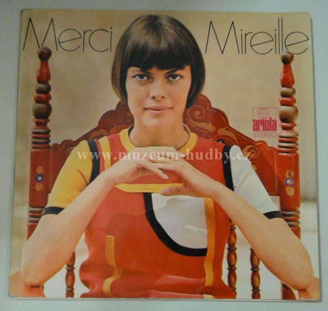 "Mireille Mathieu: Merci Mireille - Vinyl(33"" LP)"