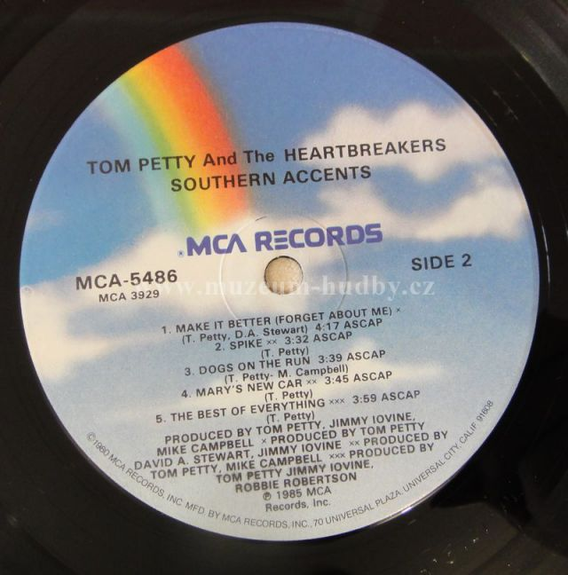 Tom Petty And The Heartbreakers Southern Accents Online