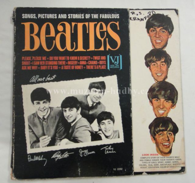 """Beatles: Songs Pictures And Stories Of The Fabulous Beatles - Vinyl(33"""" LP)"""