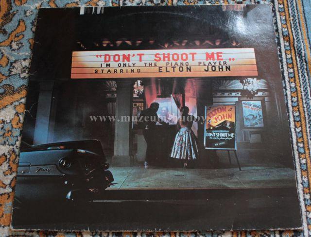 """Elton John: Don't Shoot Me I'm Only the Piano Player - Vinyl(33"""" LP)"""