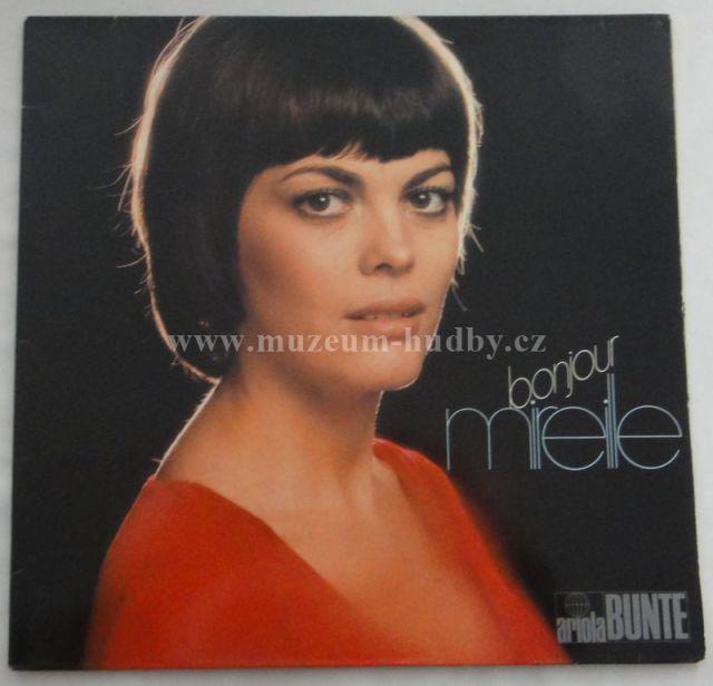 "Mireille Mathieu: Bonjour Mireille - Vinyl(33"" LP)"
