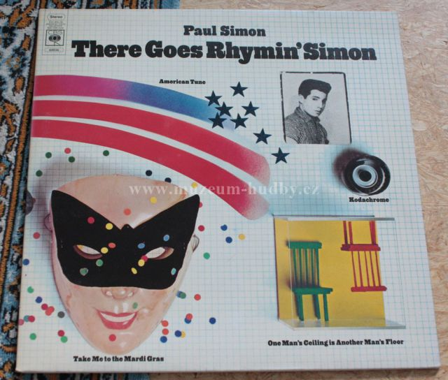 "Paul Simon: There Goes Rhymin' Simon - Vinyl(33"" LP)"