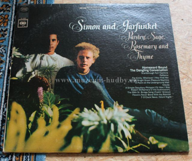 "Simon & Garfunkel: Parsley, Sage, Rosemary and Thyme - Vinyl(33"" LP)"