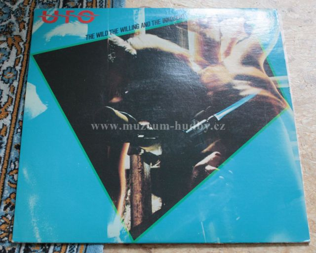 """UFO: The Wild, the Willing and the Innocent - Vinyl(33"""" LP)"""