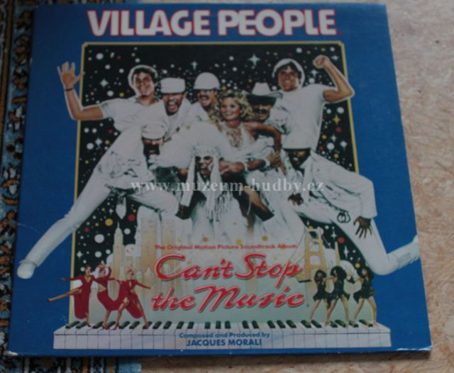 "Village People: Can't Stop the Music - Vinyl(33"" LP)"