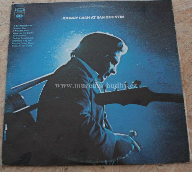 "Johnny Cash: Johnny Cash at San Quentin - Vinyl(33"" LP)"