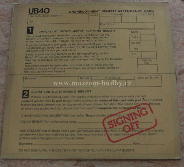 "UB40: Signing Off - Vinyl(33"" LP)"