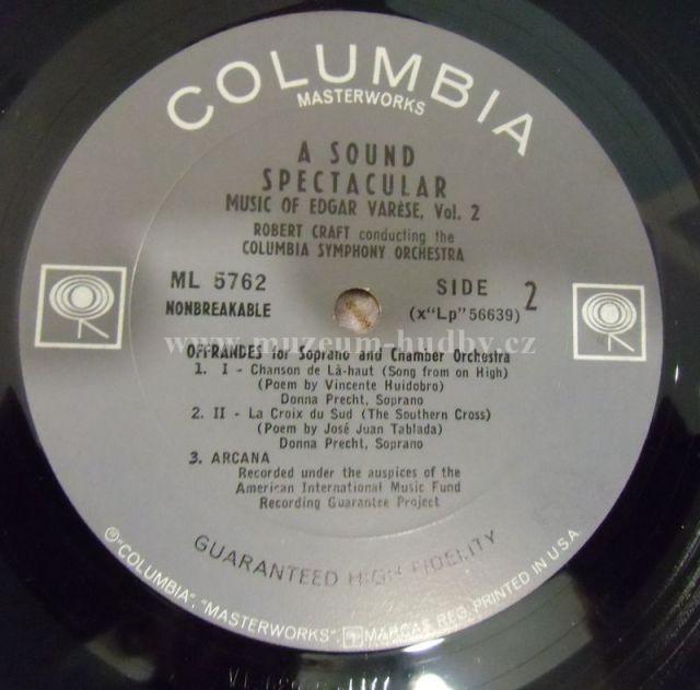 Edgar Varese Music Of Edgar Varese Online Vinyl Shop