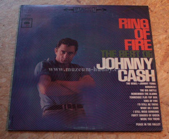 "Johnny Cash: Ring of Fire / The best of Johnny Cash - Vinyl(33"" LP)"