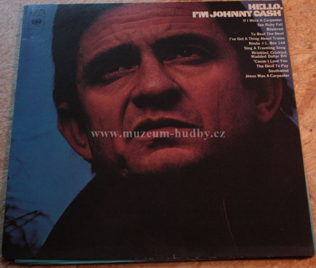 "Johnny Cash: Hello, I´m Johnny Cash - Vinyl(33"" LP)"