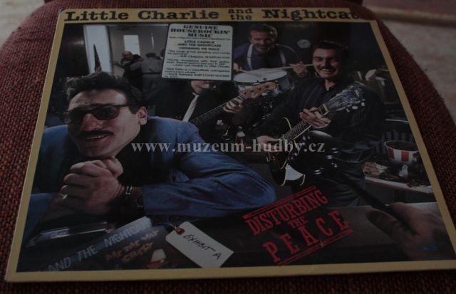"Little Charlie & the Nightcats: Disturbing the Peace - Vinyl(33"" LP)"