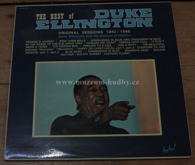 "Duke Elington: The Best of Duke Elington Original Sessions 1942/1946 - Vinyl(33"" LP)"