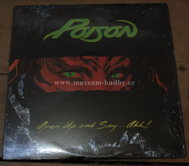 "Poison: Open Up and Say... - Vinyl(33"" LP)"