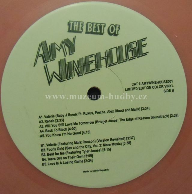 Amy Winehouse Nove Nehrane The Best Of Amy Winehouse