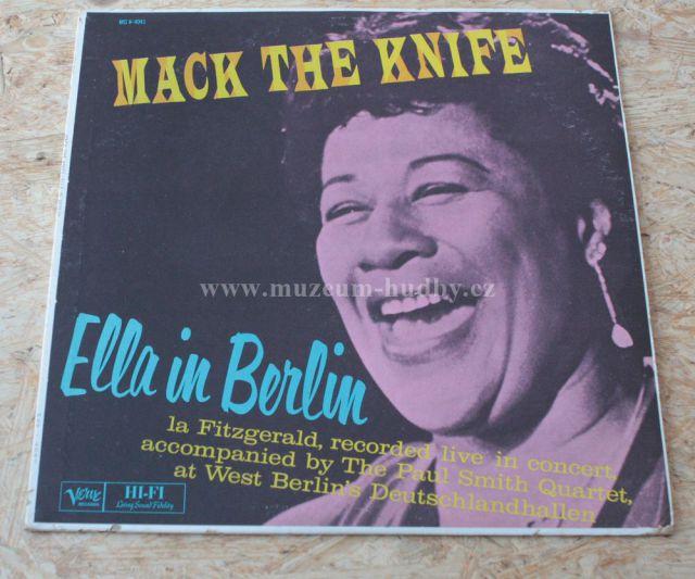 "Ella Fitzgerald: Mack the Knife / Ella in Berlin - Vinyl(33"" LP)"