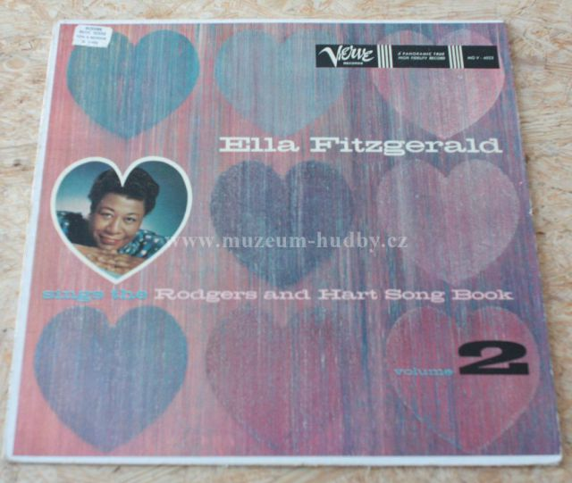 "Ella Fitzgerald: Ella Fitzgerald Sings the Rodgers and Hart Songbook Volume II - Vinyl(33"" LP)"