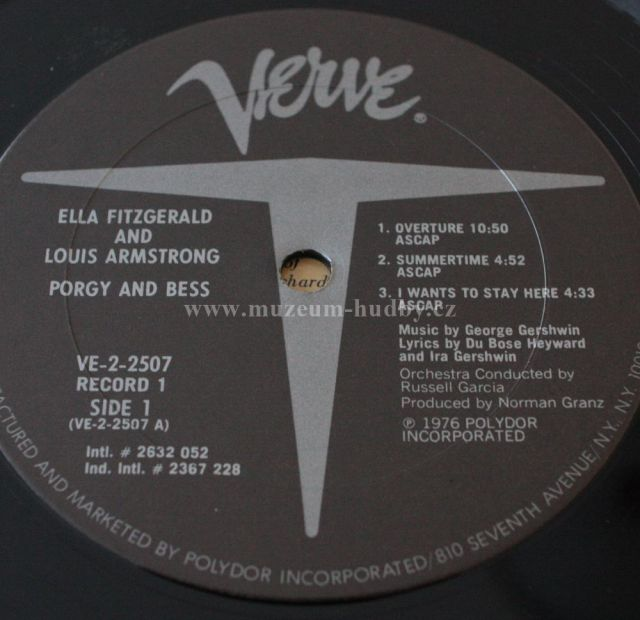 Ella Fitzgerald and Louis Armstrong-George Gershwin Porgy ... Ella Fitzgerald Porgy And Bess