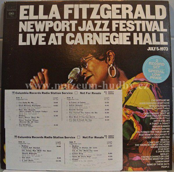 Ella Fitzgerald Newport Jazz Festival Live At Carnegie