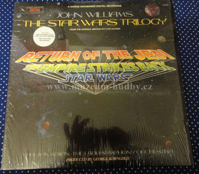 "John Williams / Star Wars: Return Of The Jedi / The Empire Strikes Back / Star Wars - Vinyl(33"" LP)"