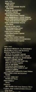 Nino Rota / Carmine Coppola / Godfather-The Godfather, Part III