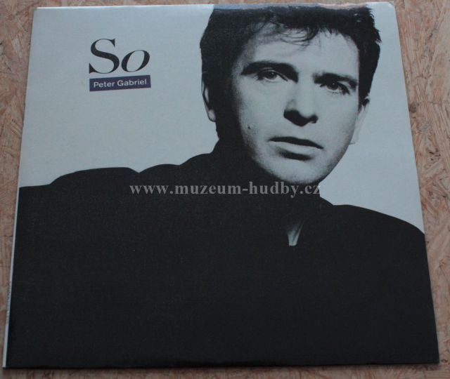 "Peter Gabriel: So - Vinyl(33"" LP)"