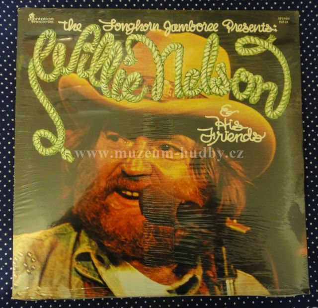 "Willie Nelson [SEAL,ZALEPENA]: The Longhorn Jamboree Presents Willie Nelson - Vinyl(33"" LP)"