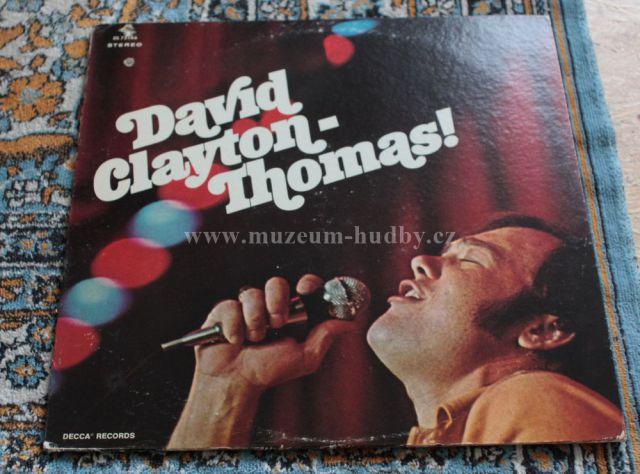 "David Clayton -Thomas: David Clayton -Thomas! - Vinyl(33"" LP)"