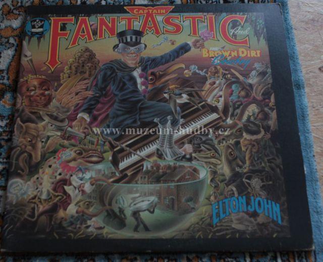 """Elton John: Captain Fantastic and the Brown Dirt Cowboy - Vinyl(33"""" LP)"""