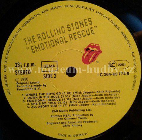 Rolling Stones The Emotional Rescue Online Vinyl Shop
