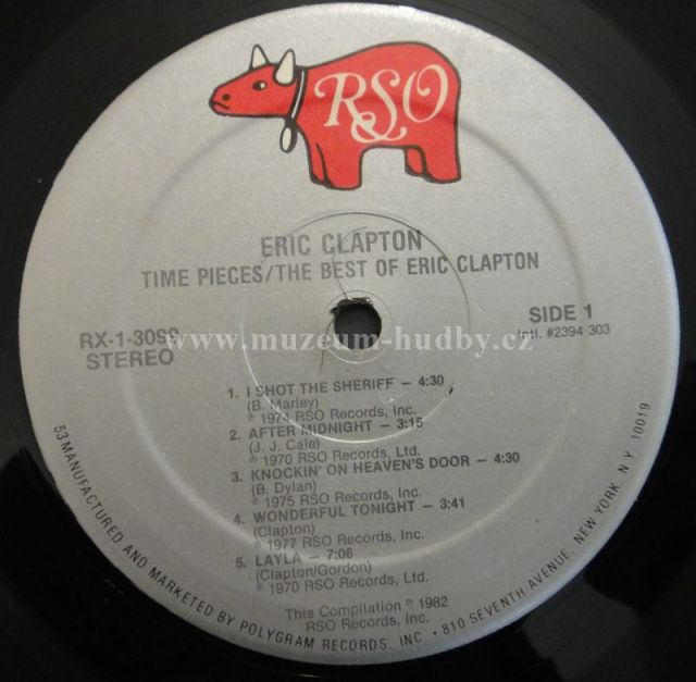 Eric Clapton Time Pieces The Best Of Eric Clapton