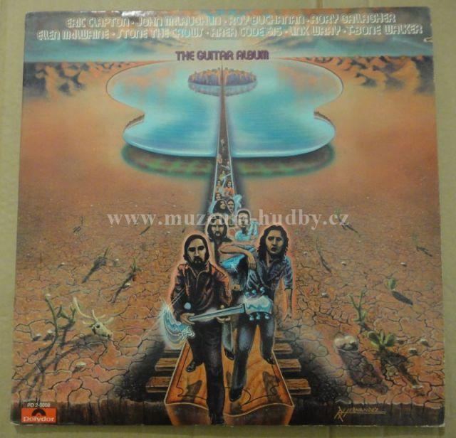"Eric Clapton, Roy Buchanan, Rory Gallagher, T-Bone Walker: The Guitar Album - Vinyl(33"" LP)"