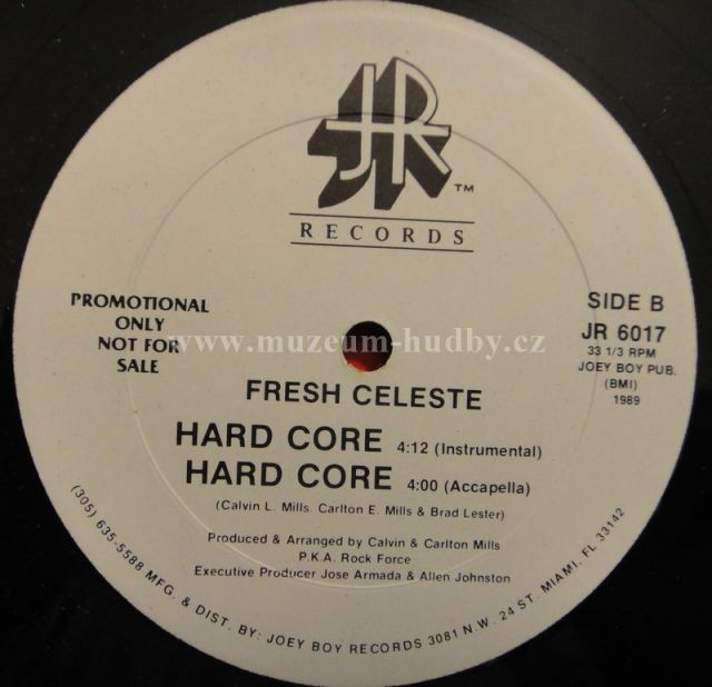 "Fresh Celeste: Hard Core - Vinyl(12"" Maxi)"