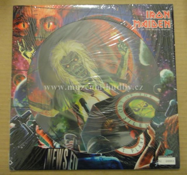 """Iron Maiden: Out Of The Silent Planet - Vinyl(12"""" Maxi)"""