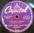 James And Martha Carson-I'll Fly Away / We Will Rise And Shine