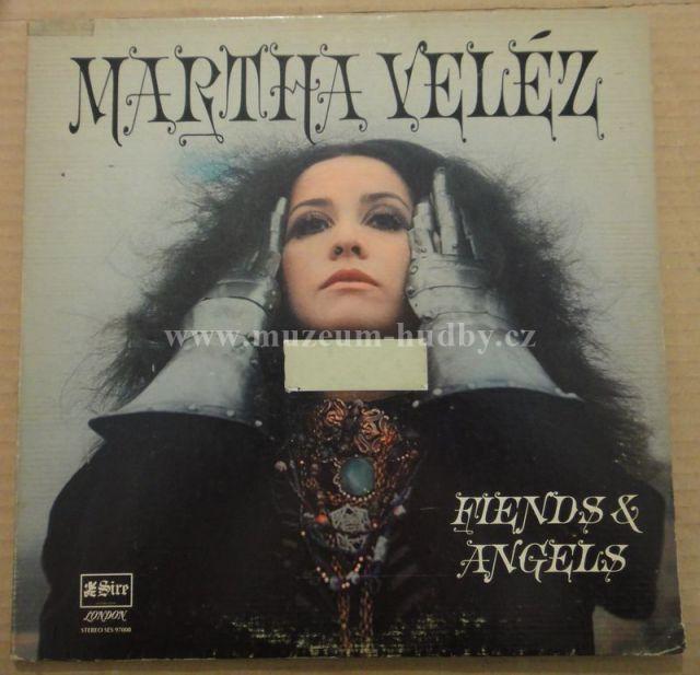 "Martha Veléz [Eric Clapton, Mitch Mitchell, Jack Bruce, Paul Kossoff, Brian Auger, Jim Capaldi, Christine McVie]: Fiends & Angels friends - Vinyl(33"" LP)"