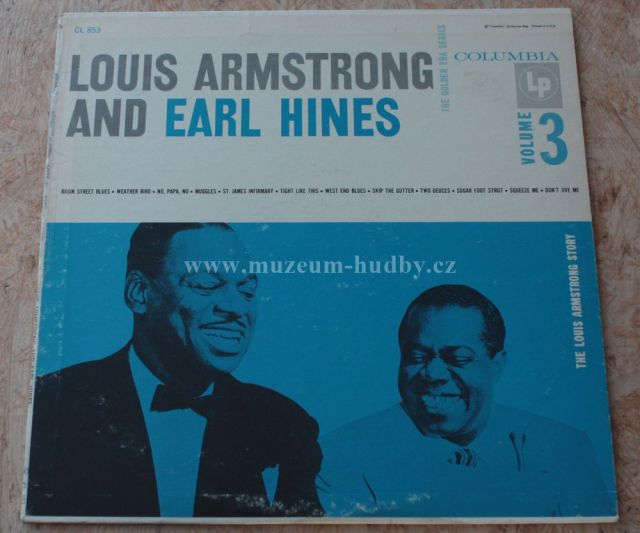 Luis Armstrong and Earl Hines-The Golden Era Series Vol. 3 ... Earl Hines And Louis Armstrong