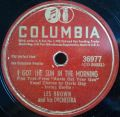 Les Brown And His Orchestra-It Couldn't Be True! / I Got The Sun In The Morning