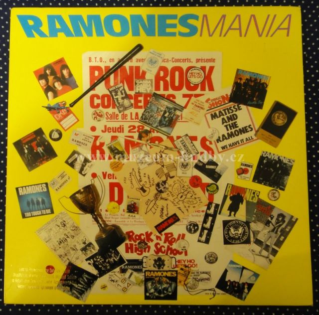 Ramones Mania Product Detail Online Vinyl Shop