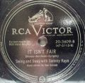 Swing And Sway With Sammy Kaye-My Lily And My Rose / It Isn't Fair