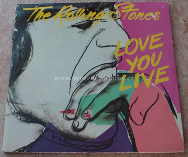 "The Rolling Stones: Love You Live - Vinyl(33"" LP)"