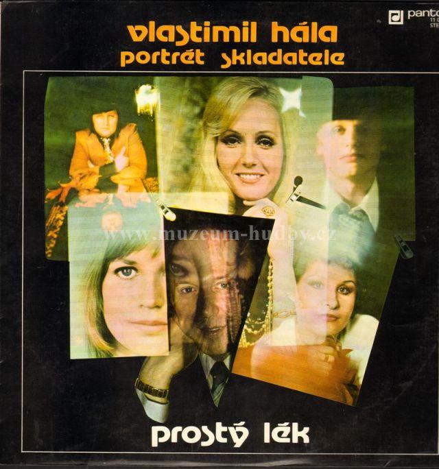 "Vlastimil Hála / Karel Cernoch / Helena Vondrackova / Jitka Molavcova / Jiri Malasek / Jiri Korn / Jitka Zelenkova /: prosty lek - Vinyl(33"" LP)"
