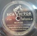 Vaughn Monroe And His Orchestra-Oh Promise Me / Because