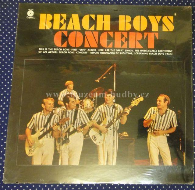"Beach Boys [Seal,zalepena]: Concert - Vinyl(33"" LP)"