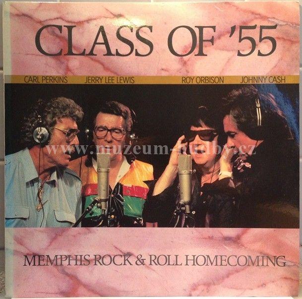 "Carl Perkins, Jerry Lee Lewis, Roy Orbison, Johnny Cash: Class Of '55 - Vinyl(33"" LP)"