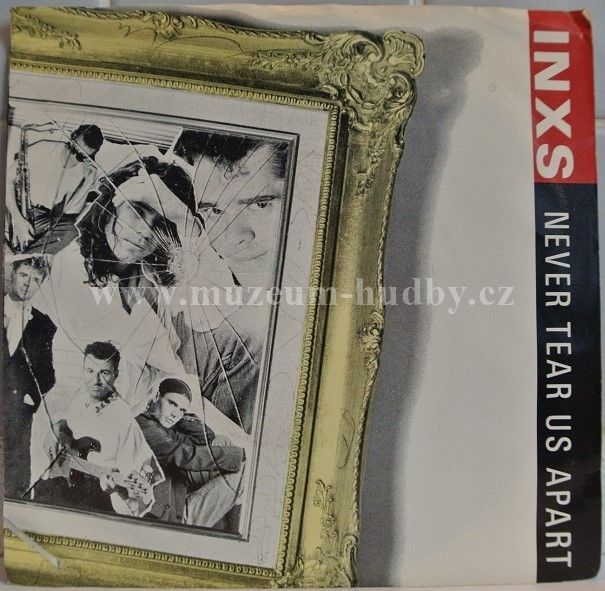 "INXS: Never Tear Us Apart / Different World - Vinyl(45"" Single)"