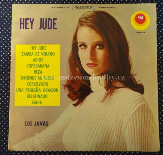 """LOS JAVAS [Beatles]: HEY JUDE - Vinyl(33"""" LP)"""