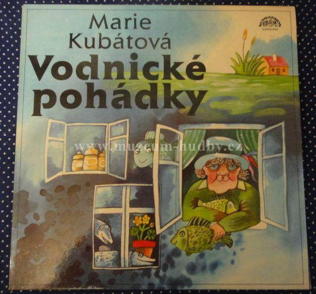 """Marie Kubátová / Luděk Munzar: Vodnické pohádky - Vinyl(33"""" LP)"""